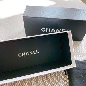 brand new CHANEL glasses/ sunglasses box w/dustbag
